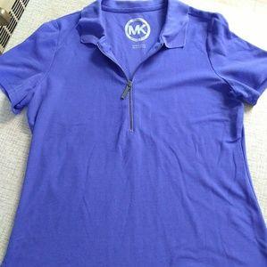 Michael Kors 1/4 Zip Polo Shirt